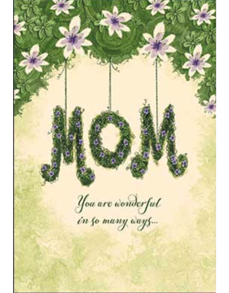 Leanin Tree Mothers Day Card: Mom You Are Wonderful
