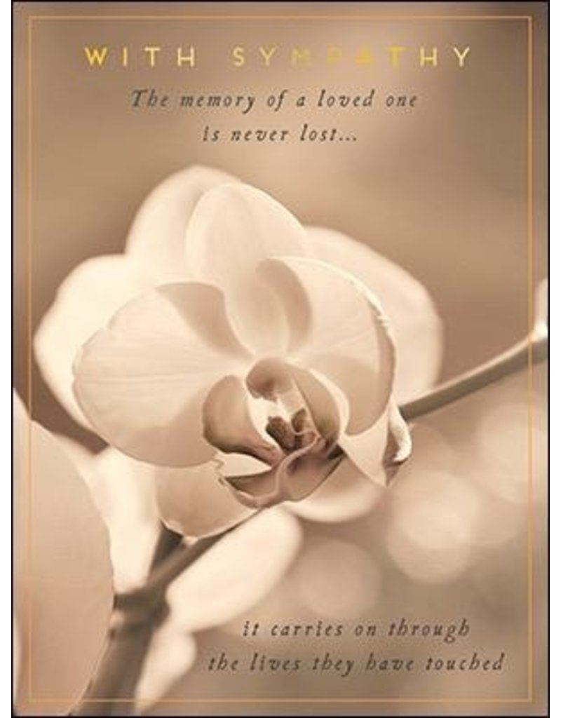 Leanin Tree Sympathy Card: The Memory of a Loved One