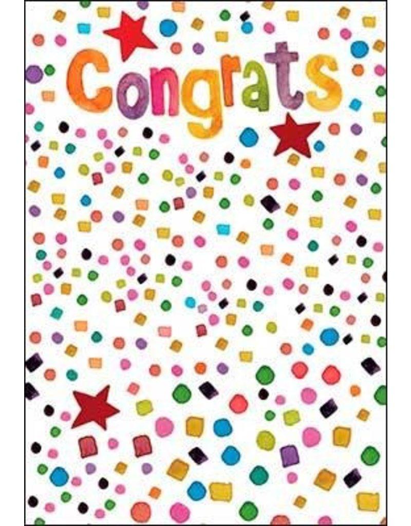 Leanin Tree Congratulations Card: Congrats, Yay You!