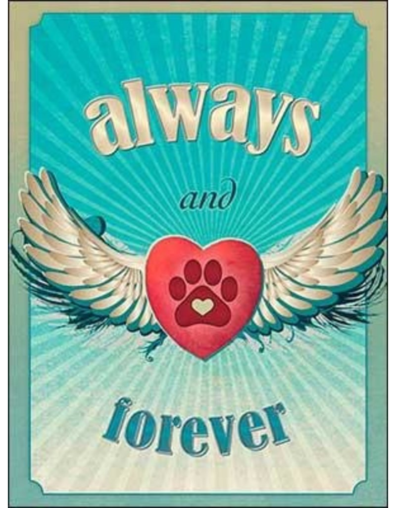 Leanin Tree Sympathy Card for Pet: Always & Forever