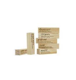 Rewined Rewined Engraved Display Blocks