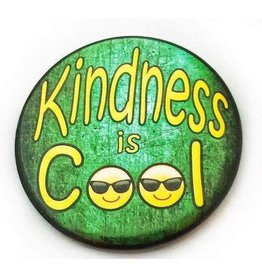 Good Eye Press Pinback Button-Kindness Is Cool