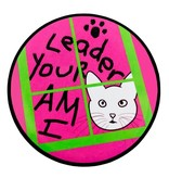 Good Eye Press Pinback Button-I Am Your Leader- CAT