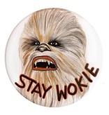 Good Eye Press Pinback Button-Stay Wokie