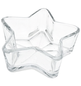 Cargo Collections Glass Star Bowl/Dish