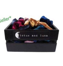 Lotus and Luna Display-Black Logo Crate