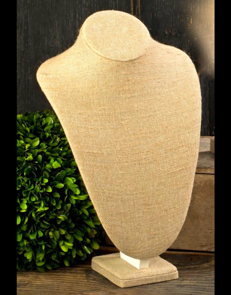 "Tripar Int Linen Neck Form Display 11"""