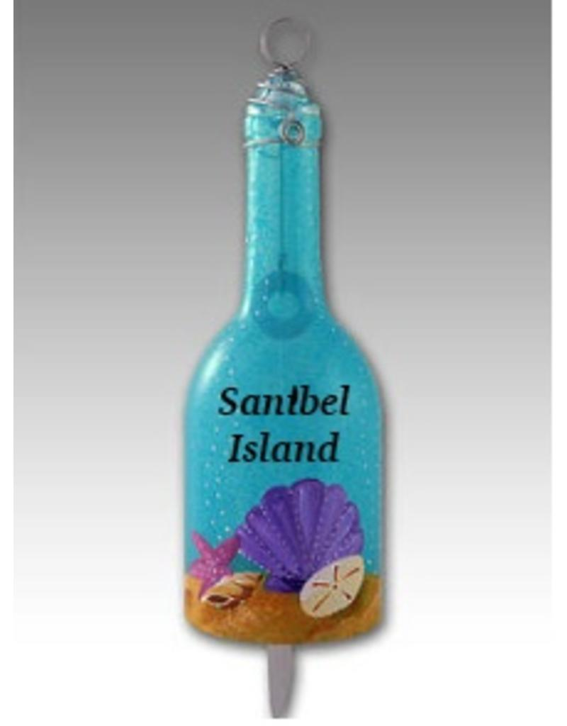 Wind Chime-Glass-Seashell 'SANIBEL'