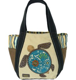 Chala Bags Tote-Carryall Zip-Sea Turtle-Sand