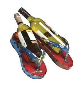 Think Outside Flip Flop Wine Holder
