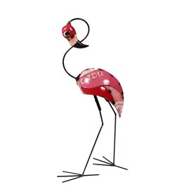 "Think Outside Pinky the Flamingo (Head Up) 36.6""hx13.6""wx18.3""d"