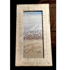 LisArt Framed Waves-'Castaway in Captiva'