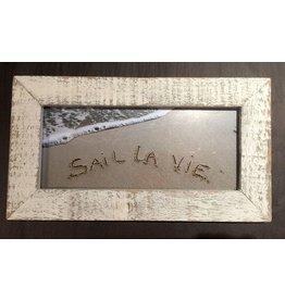 LisArt Framed Waves-'Sail La Vie'