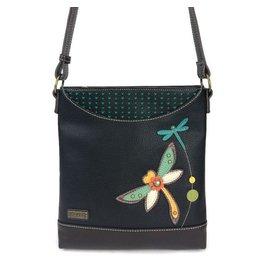 Chala Bags Messenger Sweet-Dragonfly-Black
