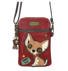 Chala Bags Crossbody-Cell Phone Bag-Chihuahua