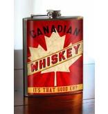 Trixie & Milo Flask-Canadian Whiskey