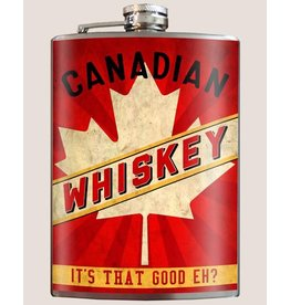 Trixie & Milo Flask-Canadian Whiskey