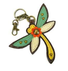 Chala Bags Key Fob-Dragonfly