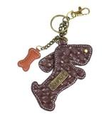Chala Bags Key Fob, Coin Purse-Wiener Dog