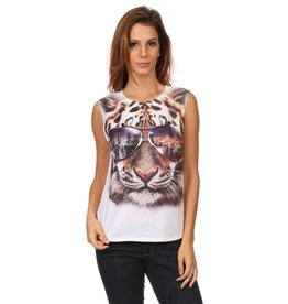 Nylon Apparel T-Shirt-Tank Top Sunglass TIGER