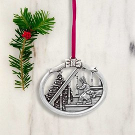 Danforth Pewter Pewter Magic of Christmas 2016 Annual Ornament