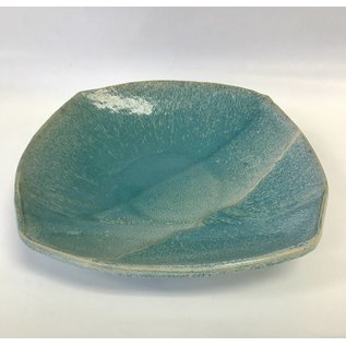 Muddy Girls Studio Square Pottery Bowl