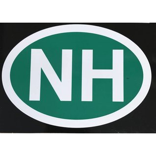 Eastern Illustrating NH Decal / Sticker (green)