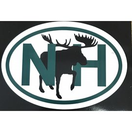 Eastern Illustrating NH Moose Decal / Sticker