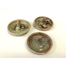Lorraine Bauman Pottery Ring Holder