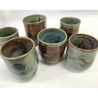 Lorraine Bauman Pottery Tumblers