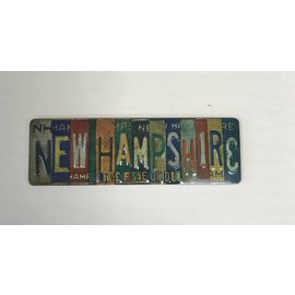 Eastern Illustrating Vintage License Plate Magnet