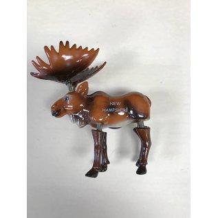 Eastern Illustrating Wiggle Moose Magnet