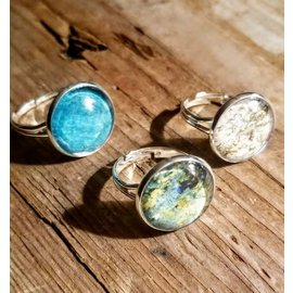 Geo Graphic Gems National Geographic Upcycled Ring