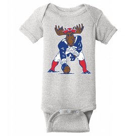 Woods & Sea Patriots Moose Onesie