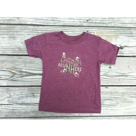 Upper Notch Press Let the Adventure Begin Here - New Hampshire Toddler T-shirt