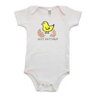 Simply Chickie Just Hatched Onesie