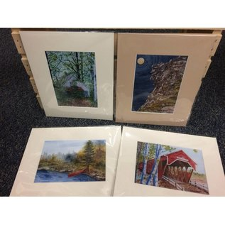 Conrad Young Watercolor Prints by Conrad Young