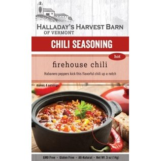 Halladay's Barn Firehouse Chili Seasoning - Hot