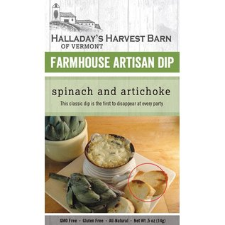 Halladay's Barn Spinach Artisan Dip Mix