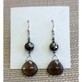 Joan Major Designs Smokey Drop Earrings