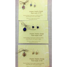 Joan Major Designs Pendant and Earring Gift Set