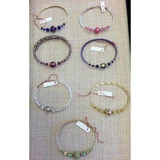 Joan Major Designs Beaded Wire Bracelet