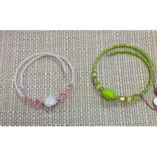 Joan Major Designs Wire Bead Child Bracelet