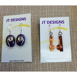 JT Designs Earrings - JT Designs