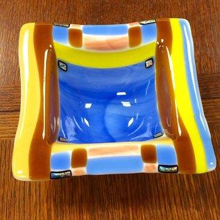 Marissa Vitolo Square Glass Bowl