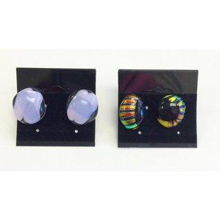 Marissa Vitolo Fused Glass Stud Earrings