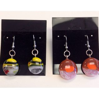 Marissa Vitolo Fused Glass Earrings