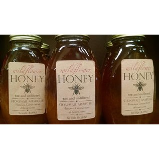 Stonewall Apiary Raw and Unfiltered Wildflower Honey 1lb