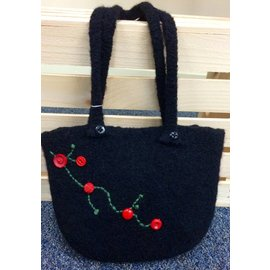 Too Wooly Designs Felted Bag
