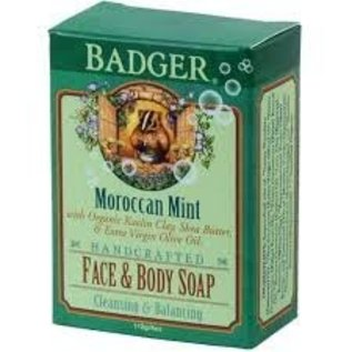 W.S. Badger Moroccan Mint Face & Body Soap